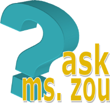 ask ms zou blue